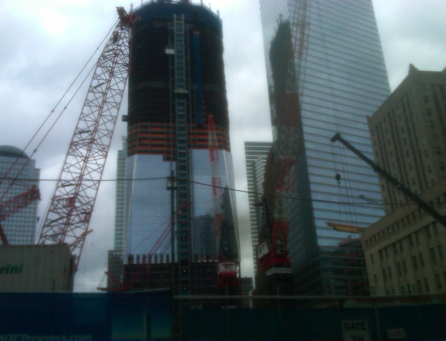 reconstruction of the WTC New York City