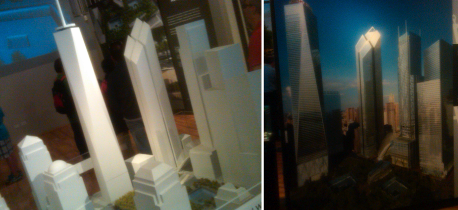 Models of the world trade center 2011