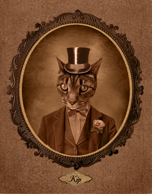 Old Timey Pet Portrait