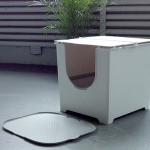 Flip Litter Box by Modko