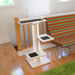 Acacia Cat Tree Square Cat Habitat