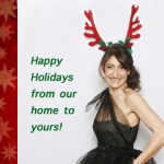 Happy Holidays from Tamar Arslanian of I HAVE CAT