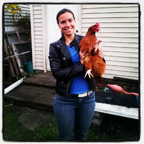 alana and rooster