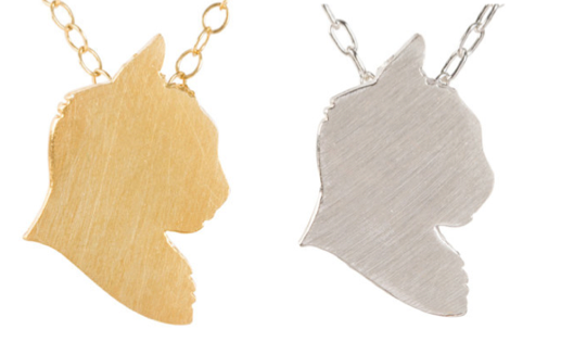 Gold and Silver Cat Charms by silhouPETes