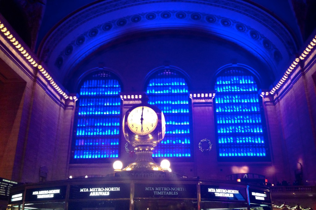 Grand Central Station Light Show