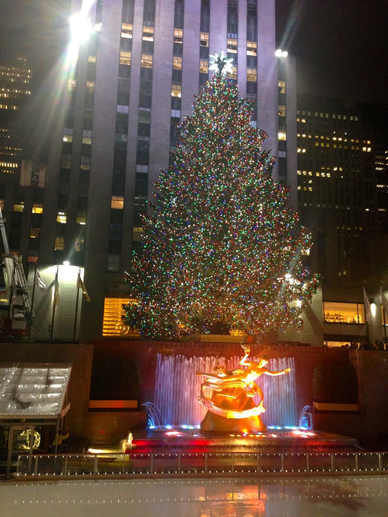 New York City at Christmas