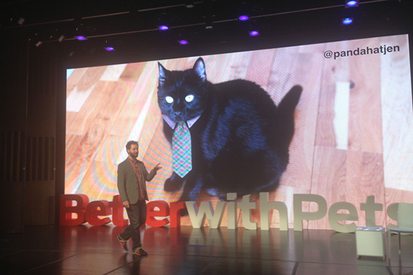 Alexis Ohanian at Purina Better With Pets
