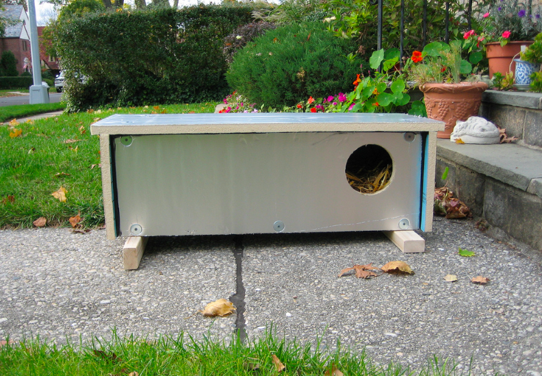 Feral cat shelter available for sale