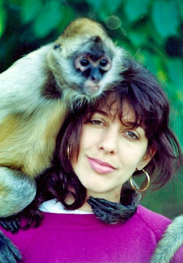 Dawn Barkan with Primate