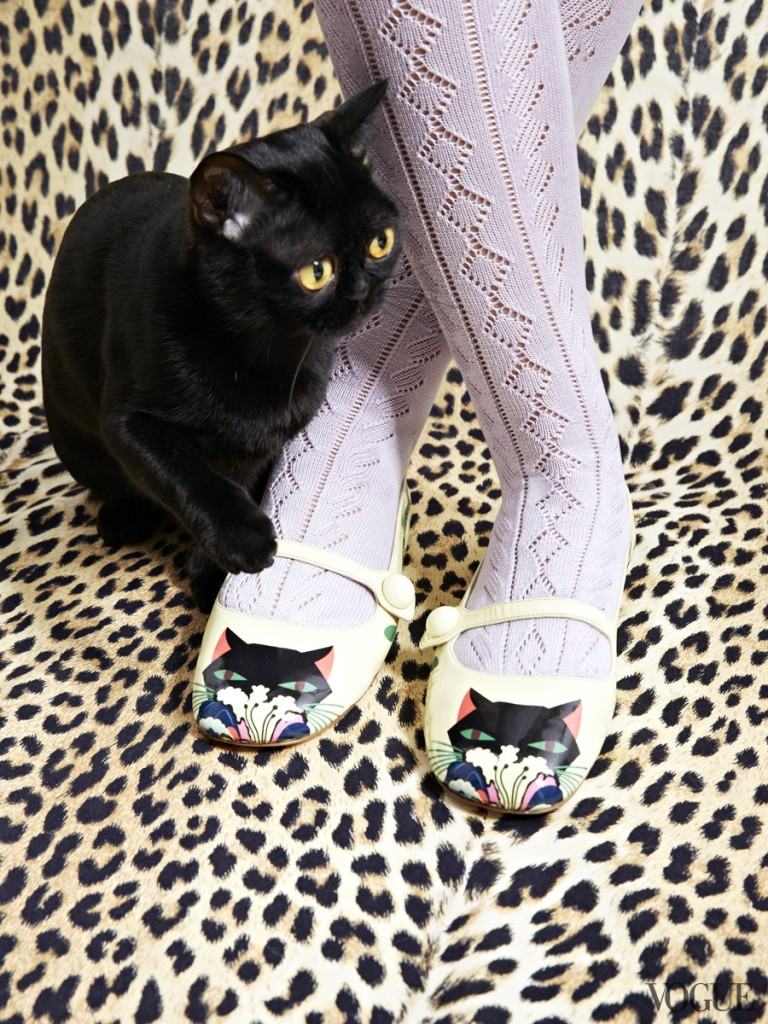 The Cat and The Flat, Vogue Editorial