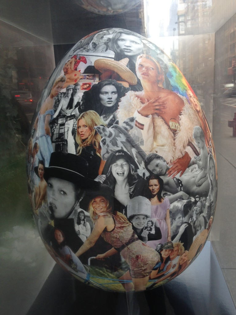 Kate Moss Egg by Bruce Weber