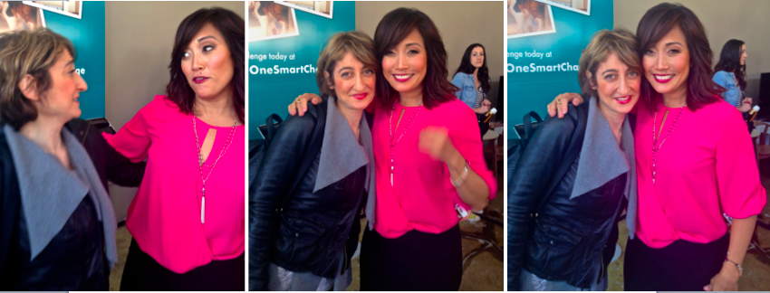 Tamar Arslanian and Carrie Ann Inaba