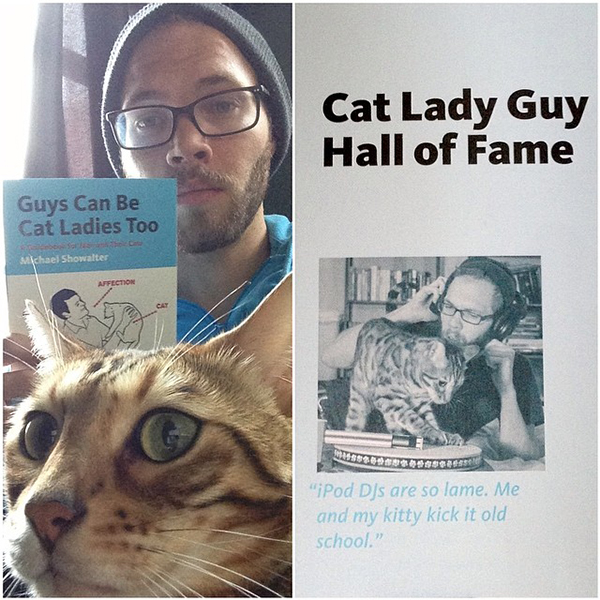 CAT LADY GUY HALL OF FAME