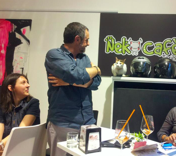 When Lottie speaks, everybody listens (Neko Cafe FB)