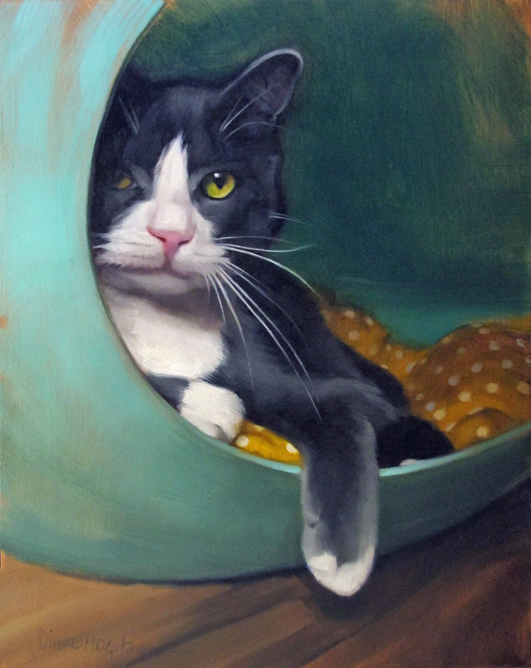 Cat Woman Wednesday Diane Hoeptner The Painter I Have Cat