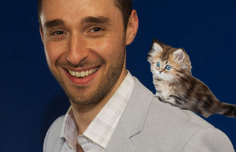 Josh Garay (sorry, sadly that's not his kitten - yet!)