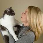 Laurie Ruettimann and her cat Emma