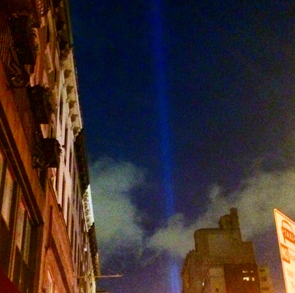 The Lights of Hope taken by me (Tamar) the evening of 9/10/14