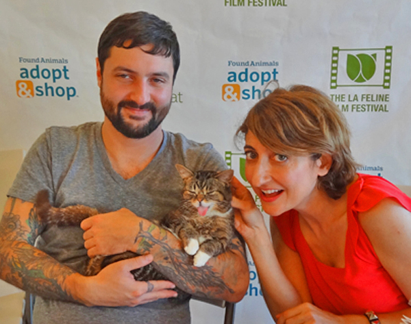Tamar Arslanian,Mike Bridavsky and Lil Bub