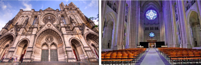 Cathedral of Saint John the Devine in Manhattan (NYC)