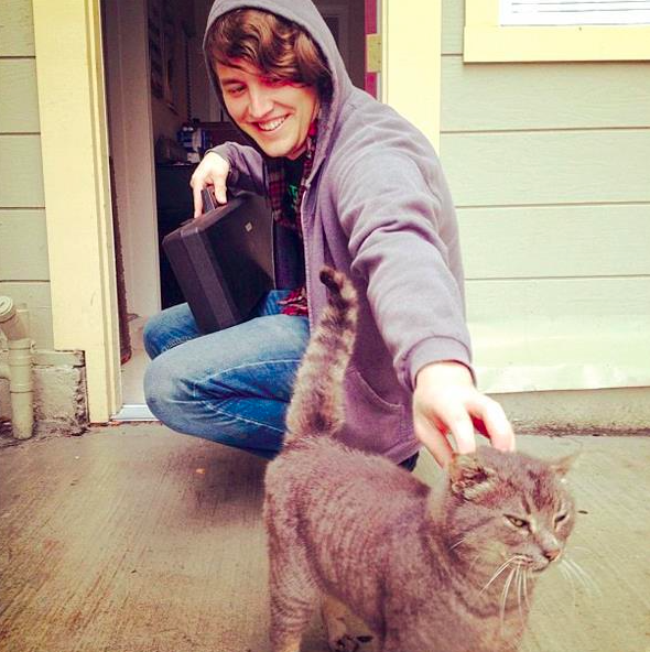 The Cat Man of West Oakland, Adam Myatt