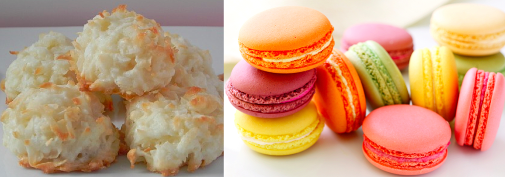 American versus French Macarons