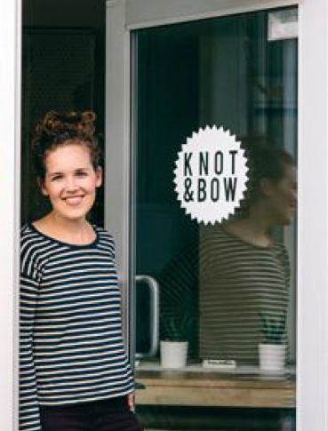 Erin Ozer Knot and Bow founder and creative director