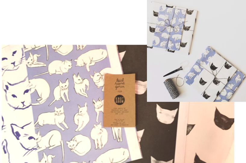 knot and bow collaboration with leah goren