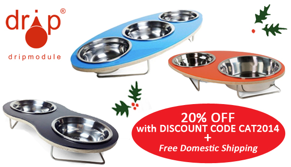 drip module pet bowls discount code for the Holidays