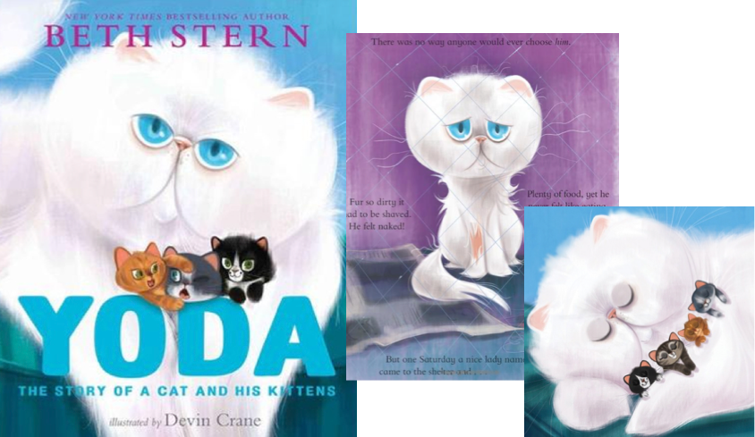 A cat book by Beth Stern