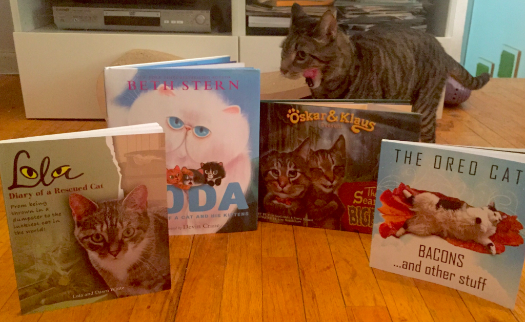 cat books as holiday gifts
