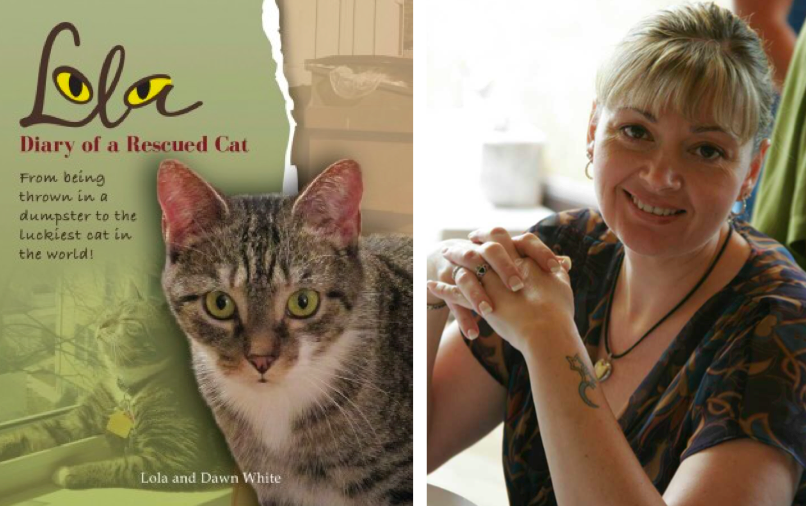 Cat books that give back to animal rescue