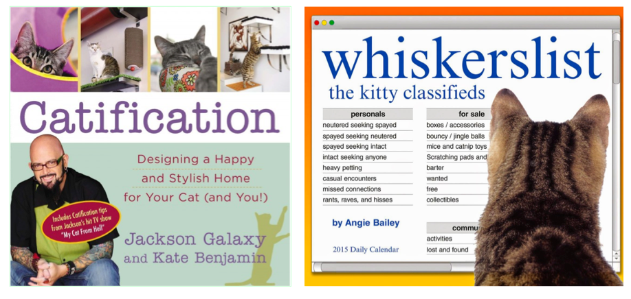 Gifts for cat lovers: Catification and whiskerslist calendar