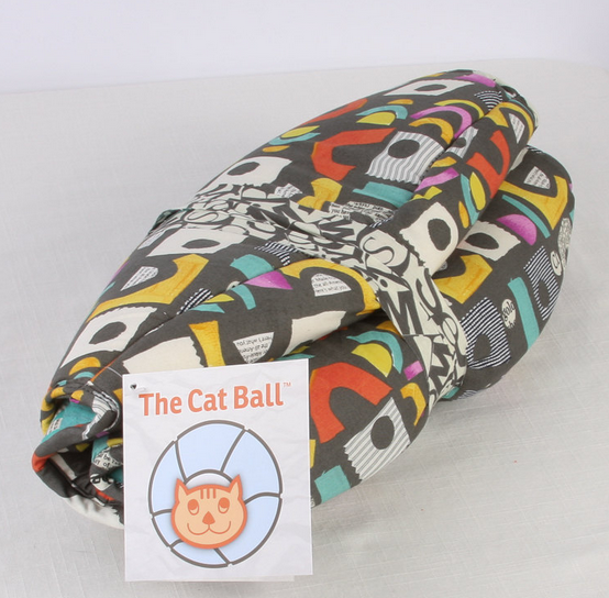 How The Cat Ball is packaged
