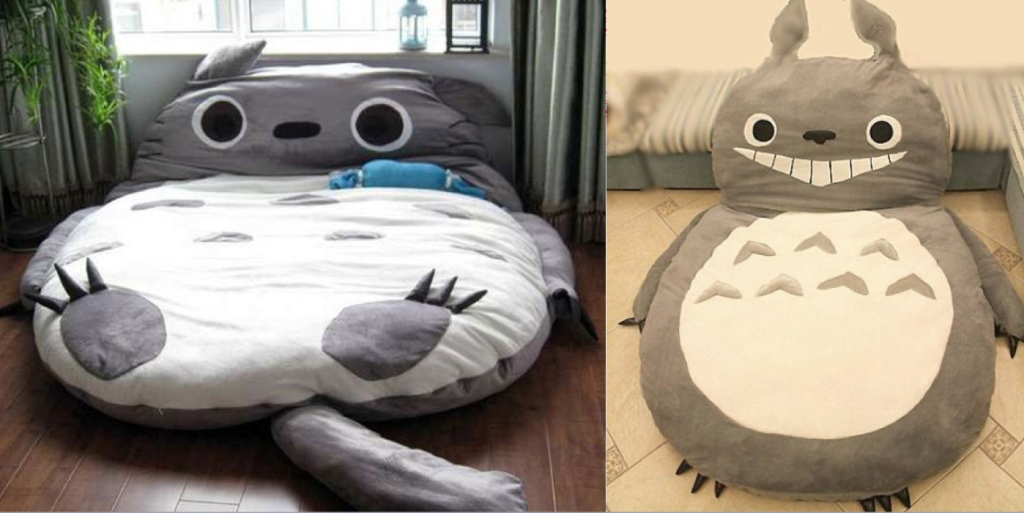 Totoro bed for humans