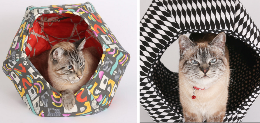 two cat ball cat bed examples