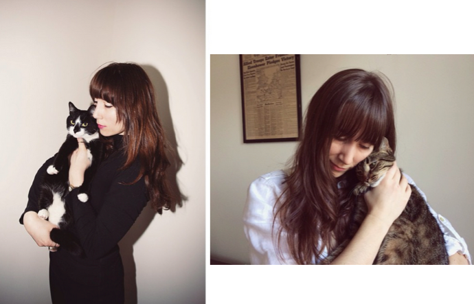 Girls and Their Cats photographer BriAnne Wills