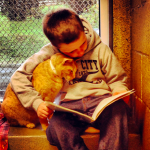 cats help children learn to read