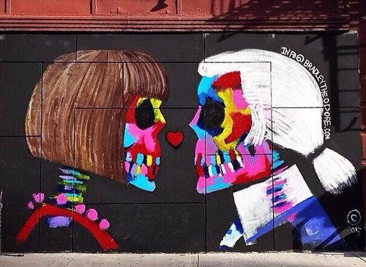 Bradley Theodore Anna Wintour and Karl Lagerfeld