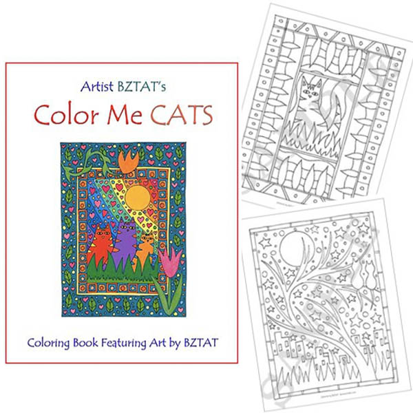 BZTAT Color Me Cat