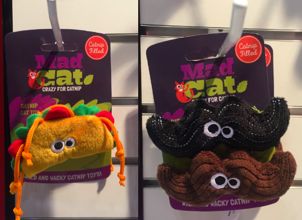 Mad Cat catnip toys - R2PPet