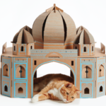 Landmark Taj Mahal for cats