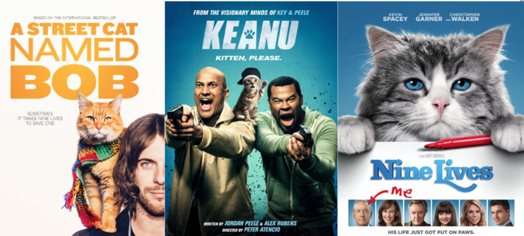 2016 Movies With Cats