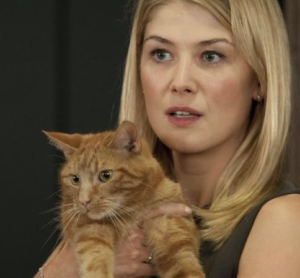 Bleeker the cat from Gone Girl