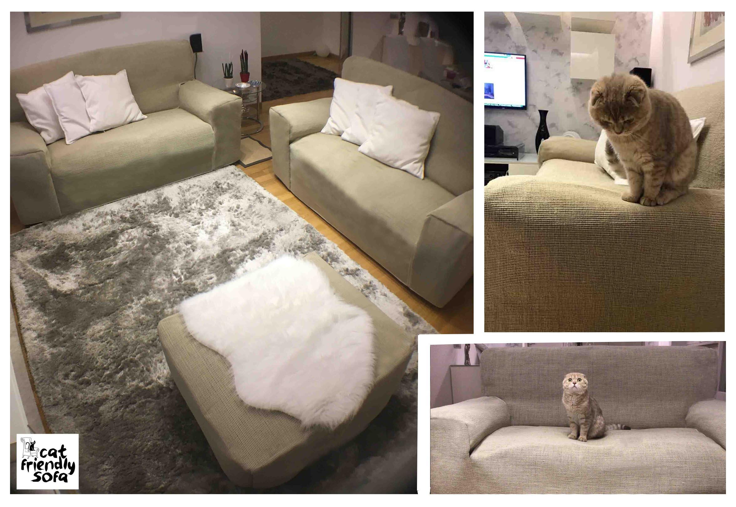 Cat Proof Custom Sofa Covers
